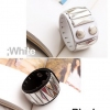 Korean Fashion Rivet Leather Bangle Bracelet