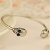 Vintage Fashion Punk Skull Cuff Bracelet