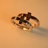 Classical Forever Finger Cross Ring