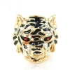 Personalized Tiger Shape Cocktail Ring