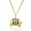 Lovely Carriage Pendant Chain Necklace