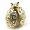 Lovely Golden Ladybug Fashion Animal Ring