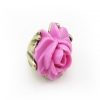Anitique Pink Flower Band Ring