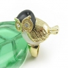 Chic Owl Golden Animal Ring