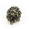 Personalized Rhinestone Lion Anitique Animal Ring