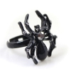 Exquisite Black Spider Alloy Animal Ring
