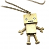 Robot Pendant Chain Long Necklaces
