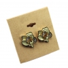 Fashion Flower Rhinestone Stud Earrings