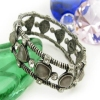Fashion Bronze Link Bracelets With Rhinestone
