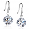 Exquisite CZ 925 Sterling Silver Drop Earring