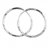 Fashion 925 Sterling Silver Hoop Earring