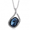 Luxury Austrian Crystal Pendant Necklace For Women