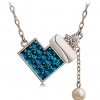 Fashionable Exquisite Zircon Women's Pendant Necklace