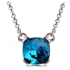 Vintage Short Crystal Pendant Necklace For Ladies
