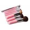 New 8 Pcs Wool Makeup Brush Set