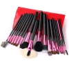 Natural Wool 18 Pcs Professional Brush Set