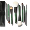 Fresh Green 8 Pcs Wool Makeup Brush Set