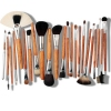 23 Pcs Professional Makeup Brush Set With PU Case