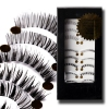 Fashion Lashes - 10 Pairs False Eyelashes Mixes Style
