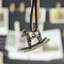 Vintage Hobby Horse Ladies' Long Sweater Chain Necklace