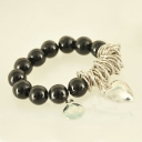 Fashion Heart Pearl Beaded Bracelet For Ladies