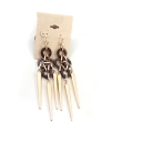Bold Fashion Punk Tassel Drop Dangle Earrings