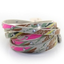Fashion Multicolor Leather Bracelets
