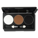 Matte 3 Colors Makeup Eyeshadow Palette