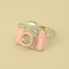 Personalized Camera Shape Band Ring for Women