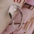 Simple Cute Lovely Dolphin Shape Thin Band Ring for Women