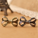 Vintage Beautiful Bowknot Shape Band Ring