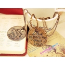 "Fashion ""LOVE"" Letter Long Pendant Sweater Necklace"