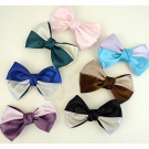 Lovely Silk Color Matching Butterfly Knot Hair Clips