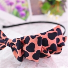 Fashion Sweet Multi-layer Bowknot Heart Pattern Headband