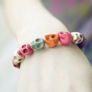 Ladies 'Korean Fashion Colorful Skeleton Bracelet