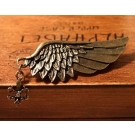 Vintage Bronze Wing Brooch