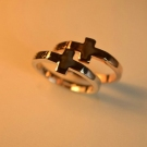 Classical Forever Double Finger Cross Ring