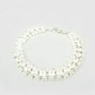 Simple Toggle Bracelets with Rhinestone