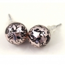 Fashion Globular Stud Earrings Set