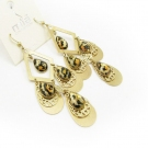 Bold Fashion Golden Leopard Dangle Drop Earrings
