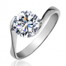 Fashion Elegant Exquisite Silver Rhinestone Ring