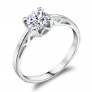 Fashion Exquisite Silver Rhinestone Ring
