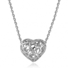 Luxury Exquisite Heart Shape Chain Necklace