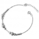 Fashion Chic Silver Link Bracelet