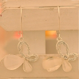 Korea Style Fashion Hollowed Bowknot Dangle Earring