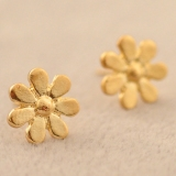 Korea Style Simple Little Daisy Stud Earring