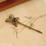 Vintage Palace Hollow Style Butterfly Knot Hair Clips
