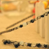 Super Looking Flash Thread Irregular Crystal Headbands