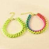 Fashion Sweet Colorful Tennis Bracelet For Ladies