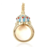 Chic Funfair Enamel Cocktail Ring